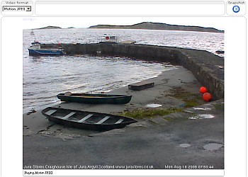 Isle of Jura Live Webcam