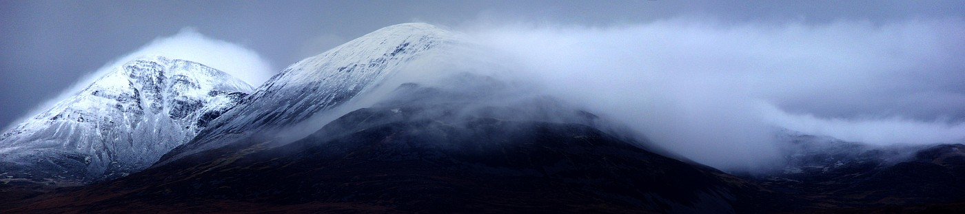 Paps of Jura in Snow
