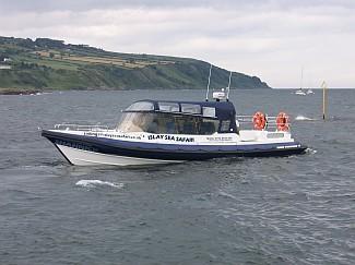 Islay Sea Safari provided the trial ferry service for the Isle of Jura