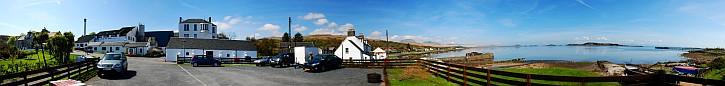 Craighouse and Small Isles Bay Panorama
