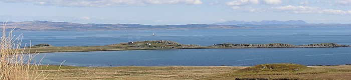 Panorama of Kintyre Coast