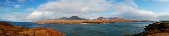 Isle of Jura Panorama Image
