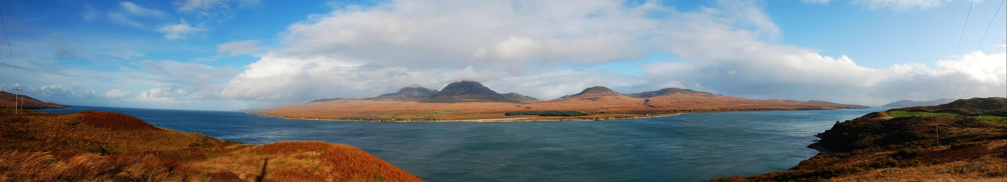 Isle of Jura Panorama Picture