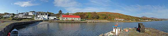 Panorama From Craighouse Pier