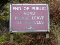 jura-end-of-road-sign