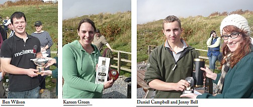 The Prize Winners of the Calum Bell Memorial Shoot 2009