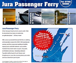jura-ferry-website