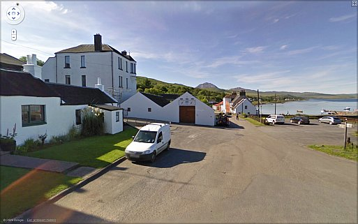 Isle of Jura on Google Streetview