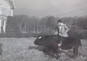 clive-on-the-bull-21st-birthday-1964