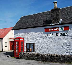 Jura Stores in Craighouse