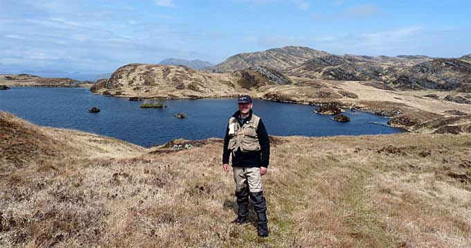 Brian Turner in the North of Jura