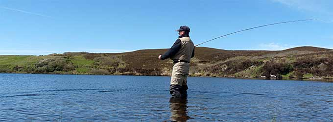 Great Trout Fishing on Jura and Islay