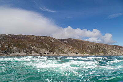 Isle of Scarba and Corryvreckan